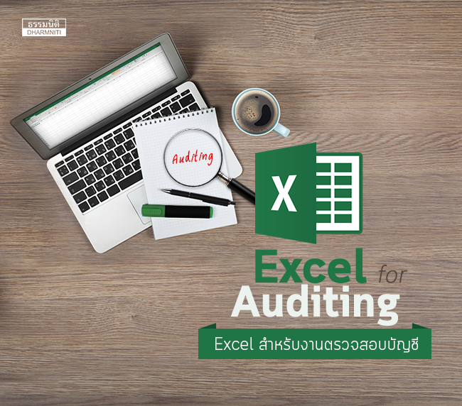excel for auditing การใช้ excel สำหรับงานตรวจสอบบัญชี (พ.18/1/60)